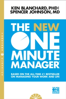 The New One Minute Manager, Paperback Book