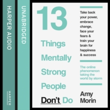 13 Things Mentally Strong People Don't Do, eAudiobook MP3 eaudioBook