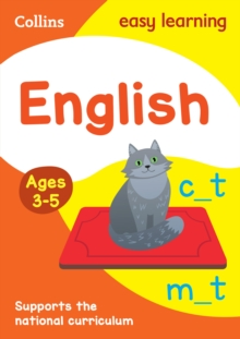English Ages 3-5 : Reception Home Learning and School Resources from the Publisher of Revision Practice Guides, Workbooks, and Activities., Paperback / softback Book