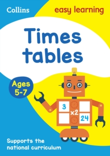 Times Tables Ages 5-7 : Prepare for School with Easy Home Learning, Paperback / softback Book