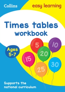 Times Tables Workbook Ages 5-7: New Edition, Paperback Book