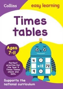 Times Tables Ages 7-11: New Edition, Paperback Book