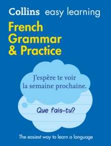 Easy Learning French Grammar and Practice, Paperback Book