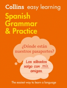 Easy Learning Spanish Grammar and Practice, Paperback Book