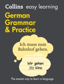 Easy Learning German Grammar and Practice, Paperback / softback Book
