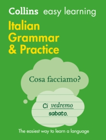 Easy Learning Italian Grammar and Practice, Paperback Book