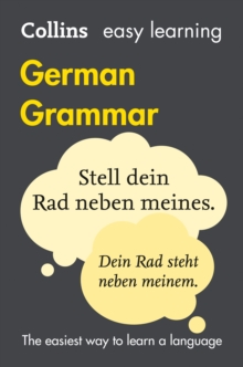 Easy Learning German Grammar, Paperback Book