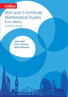 AQA Level 3 Mathematical Studies Teacher Guide, Spiral bound Book