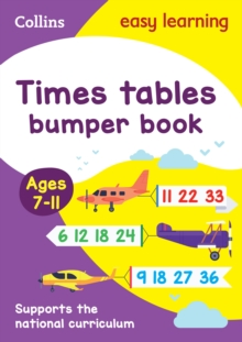 Times Tables Bumper Book Ages 7-11, Paperback Book