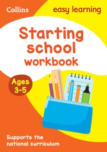 Starting School Workbook Ages 3-5: New Edition, Paperback / softback Book