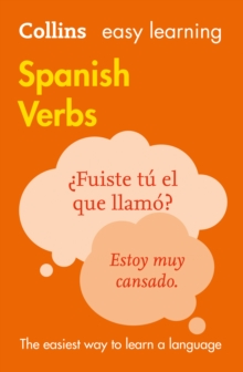 Easy Learning Spanish Verbs, Paperback Book