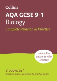 AQA GCSE 9-1 Biology All-in-One Complete Revision and Practice : Ideal for Home Learning, 2021 Assessments and 2022 Exams, Paperback / softback Book