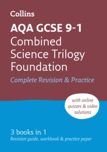 AQA GCSE 9-1 Combined Science Foundation All-in-One Complete Revision and Practice : Ideal for Home Learning, 2021 Assessments and 2022 Exams, Paperback / softback Book
