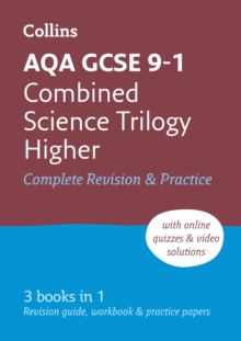 AQA GCSE Combined Science Trilogy Higher All-in-One Revision and Practice, Paperback Book