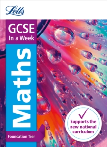 GCSE Maths Foundation in a Week, Paperback Book
