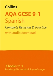 AQA GCSE Spanish All-in-One Revision and Practice, Paperback Book