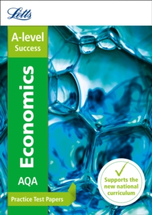 AQA A-Level Economics Practice Test Papers, Paperback Book