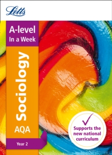 AQA A-level Sociology Year 2 In a Week, Paperback Book