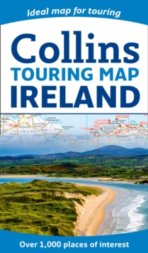 Collins Ireland Touring Map, Sheet map, folded Book