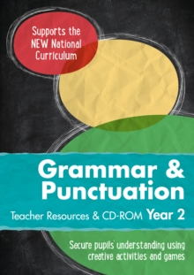Year 2 Grammar and Punctuation Teacher Resources with CD-ROM : English KS1, Spiral bound Book