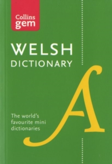 Collins Welsh Dictionary Gem Edition : Trusted Support for Learning, in a Mini-Format, Paperback Book