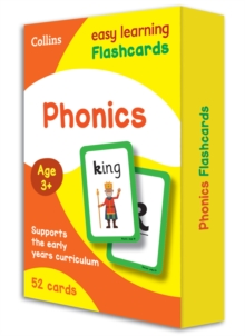 Phonics Flashcards, Cards Book