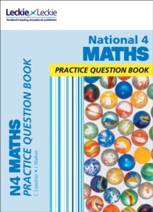 National 4 Maths Practice Question Book, Paperback Book