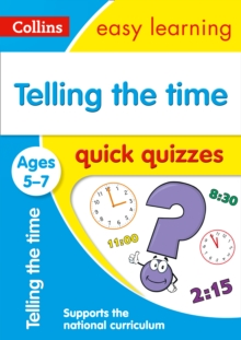 Telling the Time Quick Quizzes Ages 5-7, Paperback Book