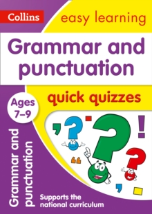 Grammar & Punctuation Quick Quizzes Ages 7-9, Paperback Book