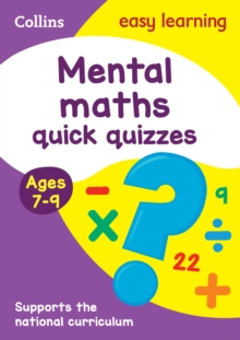 Mental Maths Quick Quizzes Ages 7-9, Paperback Book