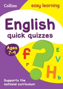 English Quick Quizzes Ages 7-9, Paperback Book