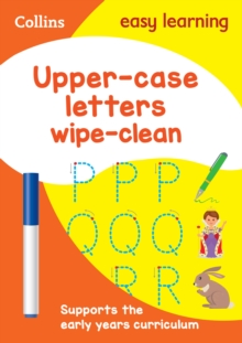 Upper Case Letters Age 3-5 Wipe Clean Activity Book : Prepare for Preschool with Easy Home Learning, Other book format Book