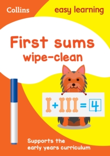 First Sums Age 3-5 Wipe Clean Activity Book, Other book format Book