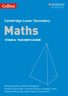 Lower Secondary Maths Teacher's Guide: Stage 8, Paperback / softback Book