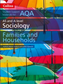 AQA AS and A Level Sociology Families and Households, Paperback Book