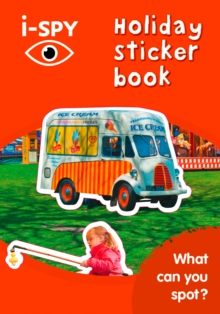 i-SPY Holiday Sticker Book : What Can You Spot?, Paperback Book