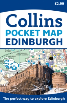 Edinburgh Pocket Map : The Perfect Way to Explore Edinburgh, Sheet map, folded Book