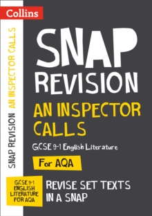 An Inspector Calls: AQA GCSE 9-1 English Literature Text Guide : For the 2022 Exams, Paperback / softback Book
