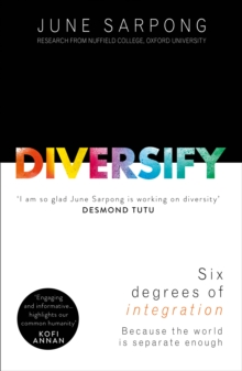 Diversify : An Award-Winning Guide to Why Inclusion is Better for Everyone, Paperback / softback Book