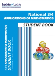 National 3/4 Applications of Mathematics Student Book, Paperback Book