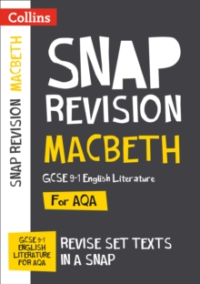 Macbeth: AQA GCSE 9-1 English Literature Text Guide : Ideal for Home Learning, 2021 Assessments and 2022 Exams, Paperback / softback Book