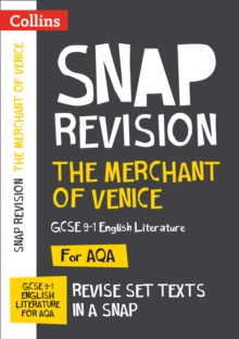 The Merchant of Venice: AQA GCSE English Literature Text Guide, Paperback Book