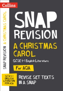 A Christmas Carol: AQA GCSE English Literature Text Guide, Paperback Book