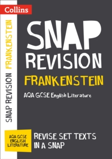 Frankenstein: AQA GCSE 9-1 English Literature Text Guide, Paperback Book
