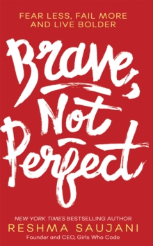 Brave, Not Perfect, Hardback Book