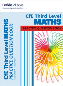 CfE Third Level Maths Practice Question Book, Paperback / softback Book