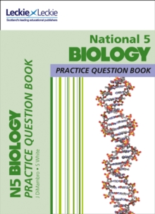 National 5 Biology Practice Question Book for New 2019 Exams : Extra Practice for Sqa Exam Topics, Paperback / softback Book