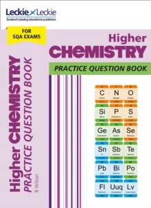 Higher Chemistry Practice Question Book : Extra Practice for Sqa Exam Topics, Paperback / softback Book