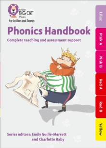 Phonics Handbook Lilac to Yellow : Full Support for Teaching Letters and Sounds, Mixed media product Book