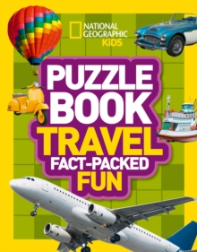 Puzzle Book Travel : Brain-Tickling Quizzes, Sudokus, Crosswords and Wordsearches, Paperback Book